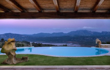 Cugnana prestigious sea view villa for sale