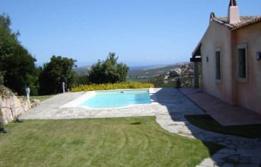 Palau villa with sea view for sale